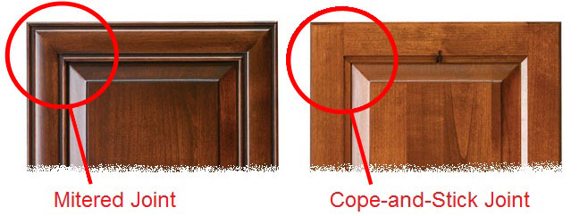 Charmant Mitered Cabinet Doors Vs Cope And Stick Cabinet Doors