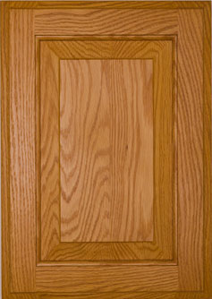 Cabinet Door: OAK AMERICAN RAISED PANEL Door