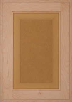 Cabinet Door: PAINTABLE COUNTRY RAISED PANEL Door