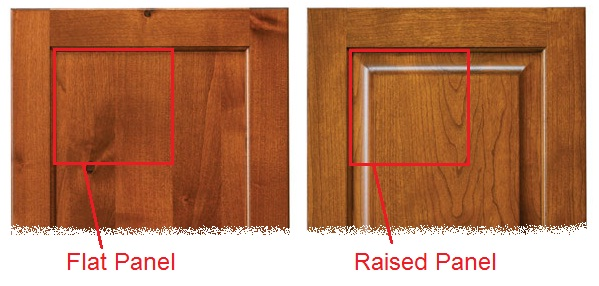 Flat Panel Cabinet Doors Vs Raised