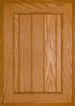 Cabinet Door Oak American Beadboard